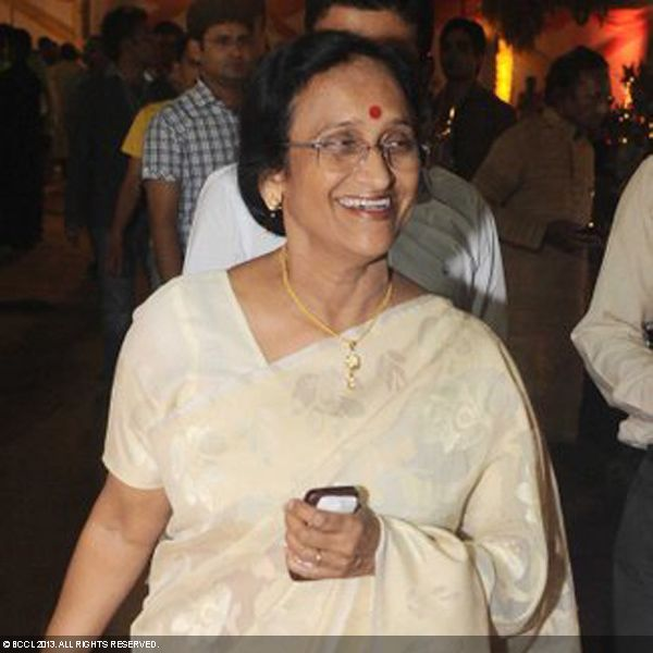 Rita Bahuguna Joshi during the wedding ceremony of Ragini and Ashok, held in Delhi.