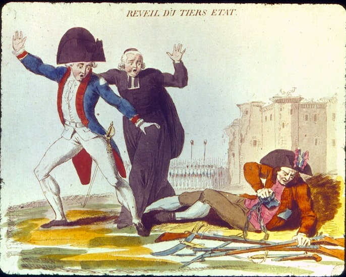 into three large social classes or estates the privileged estates French Revolution Estates System