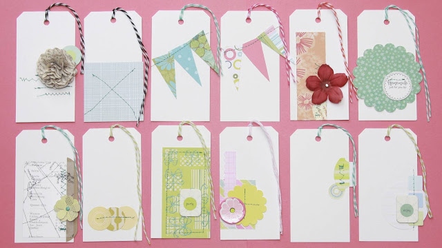 Embellished Shipping Tags | iloveitallwithmonikawright.com
