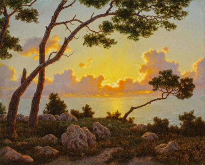 Ivan Fedorovich Choultse - Sunrise, Capri