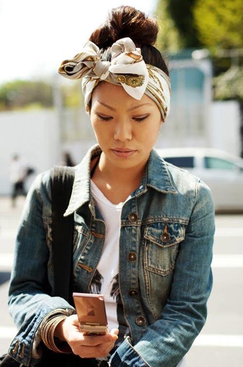 Inspiração: lenços e turbantes