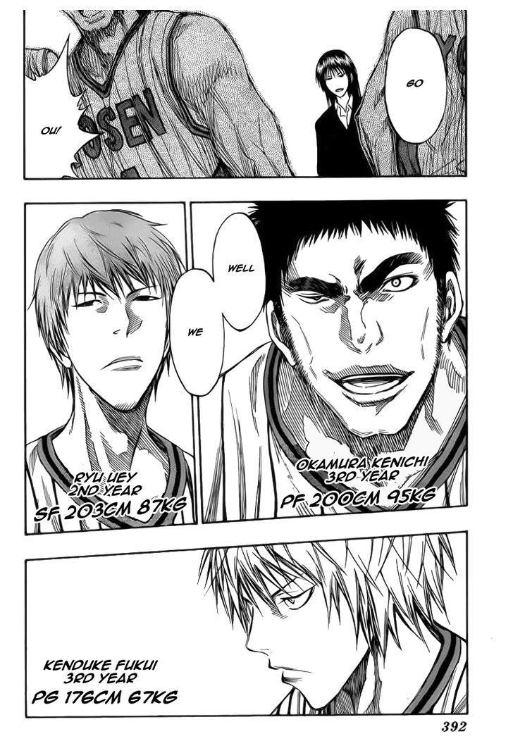 Kuroko no Basket Manga Chapter 145 - Image 12