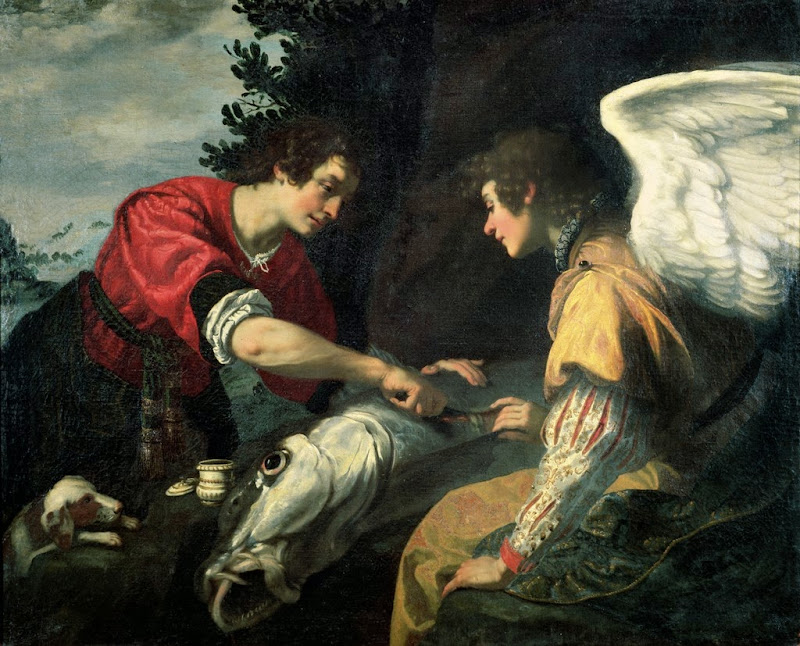 Jacopo Vignali - Tobias and the Archangel Raphael