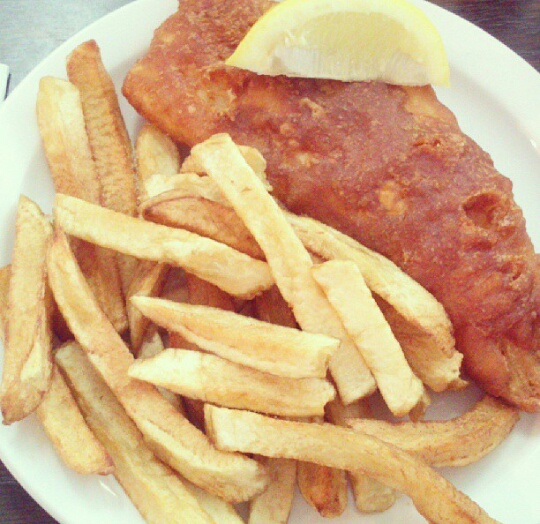 Ducky's English Style Fish N Chips