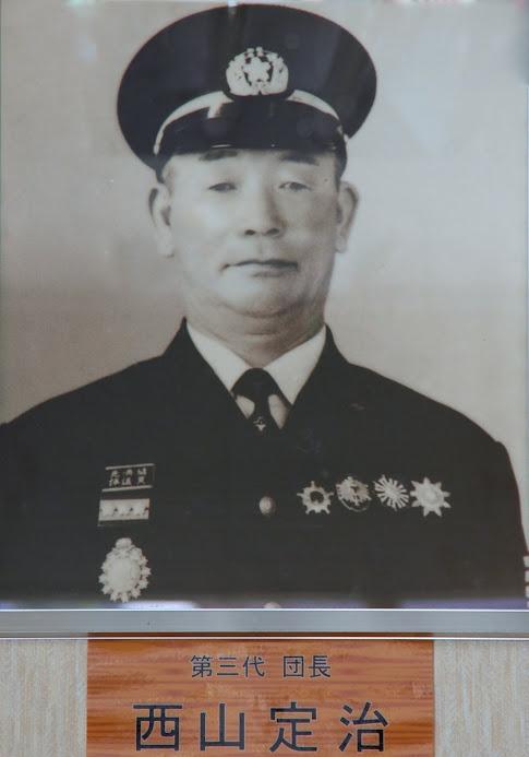 第3代団長・西山定治 氏