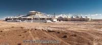 Nội thất gỗ : Khách sạn được xây dựng hoàn toàn từ muối