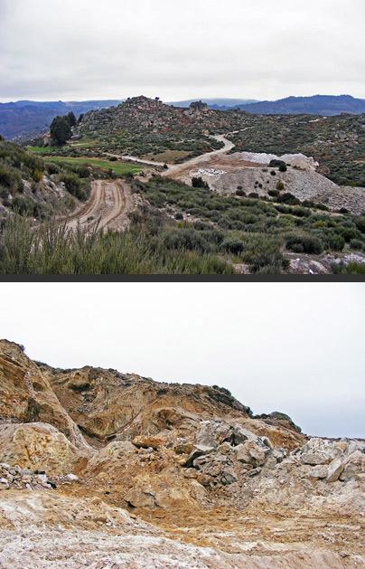 Mina Fonte da Cal, Bendada, Portugal