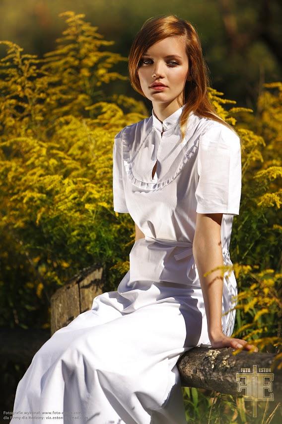 Fotografia mody /  plenerowa  / koszule nocne dla projektantów mody