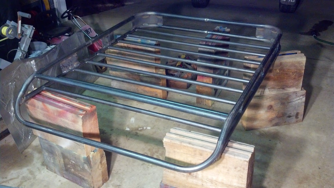 Build Your Own Roof Rack For 70 Jeepforum Com