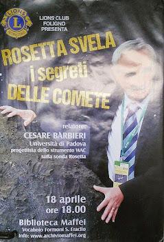 Rosetta svela il segreto delle comete
