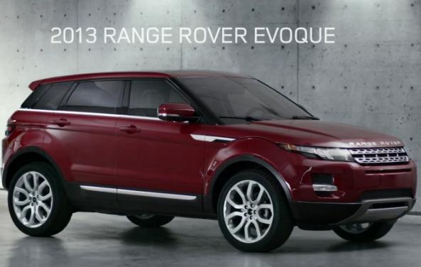 "2013 Range Rover Evoque ""The Collector"" Commercial"