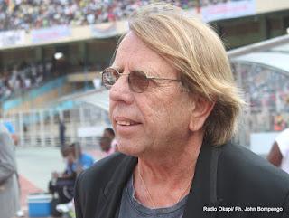 Claude Le Roy, entraineur des Léopards de la RDC le 9/09/2012 au stade de martyrs à Kinshasa. Radio Okapi/ Ph. John Bompengo
