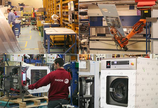 Show-room Fagor industrial en Oñati