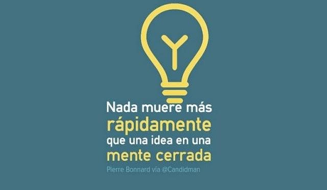 Las ideas son como los árboles