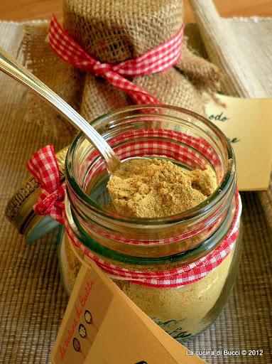 Brodo granulare vegetale homemade