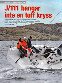 J/111 sailing Stockholm, Sweden