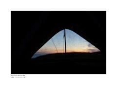Dernier coup d'oeil sous la tente