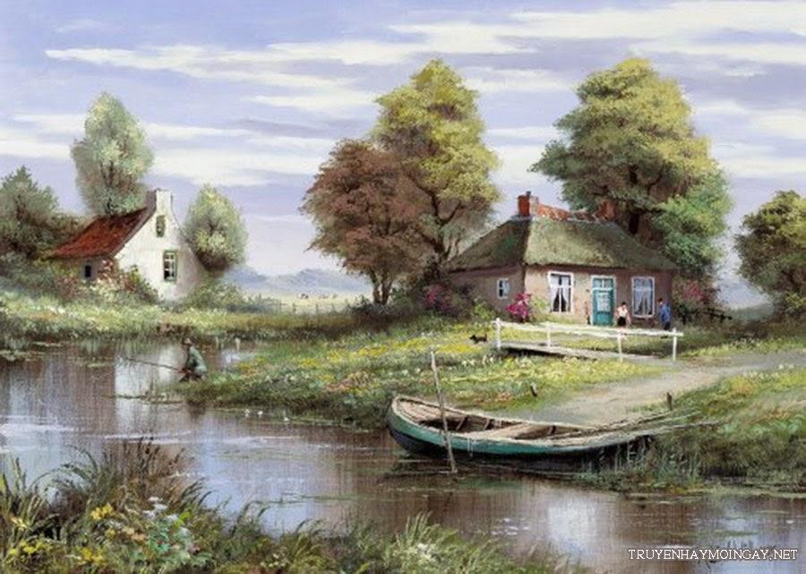 Ảnh đẹp đồ họa về đồng quê