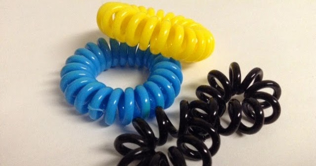 a simple moment  Plastic Telephone Spiral Cord Hair Ties review 765aa052ffe