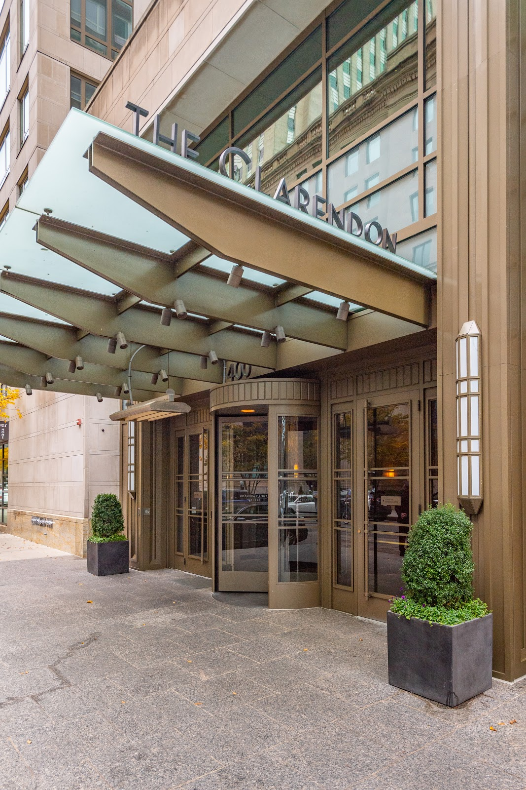 The Clarendon Entrance