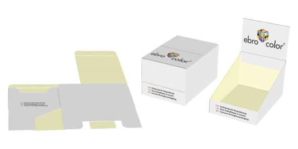 custom cardboard counter display boxes