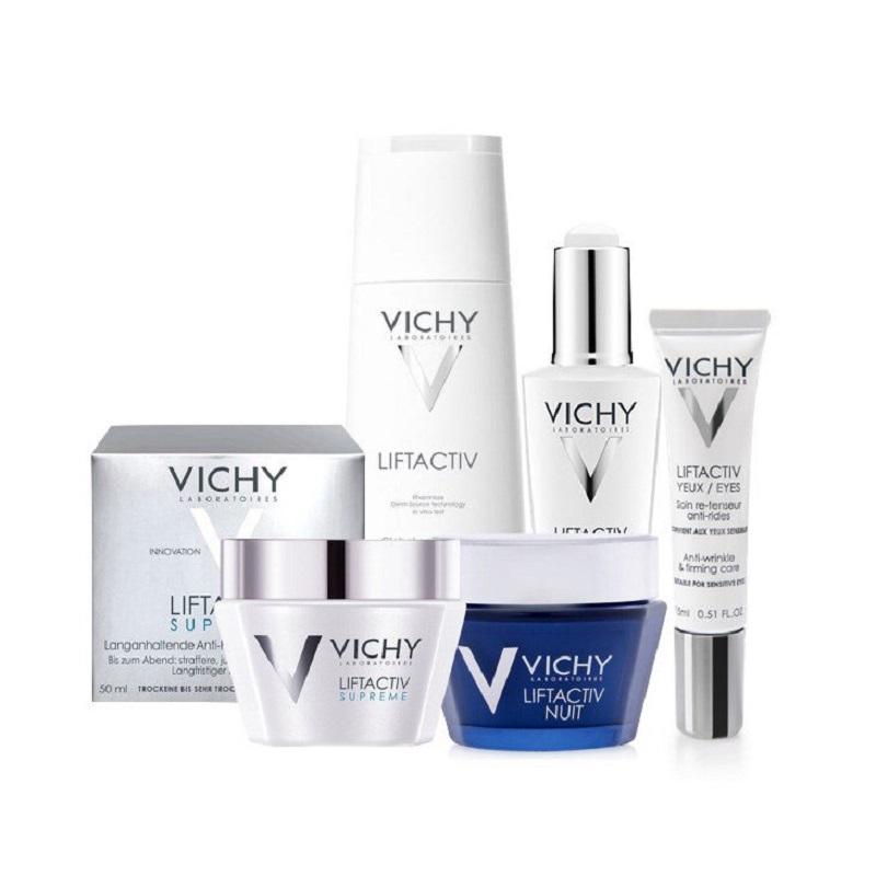 Vichy sản phẩm có tác dụng chống lão hóa tốt
