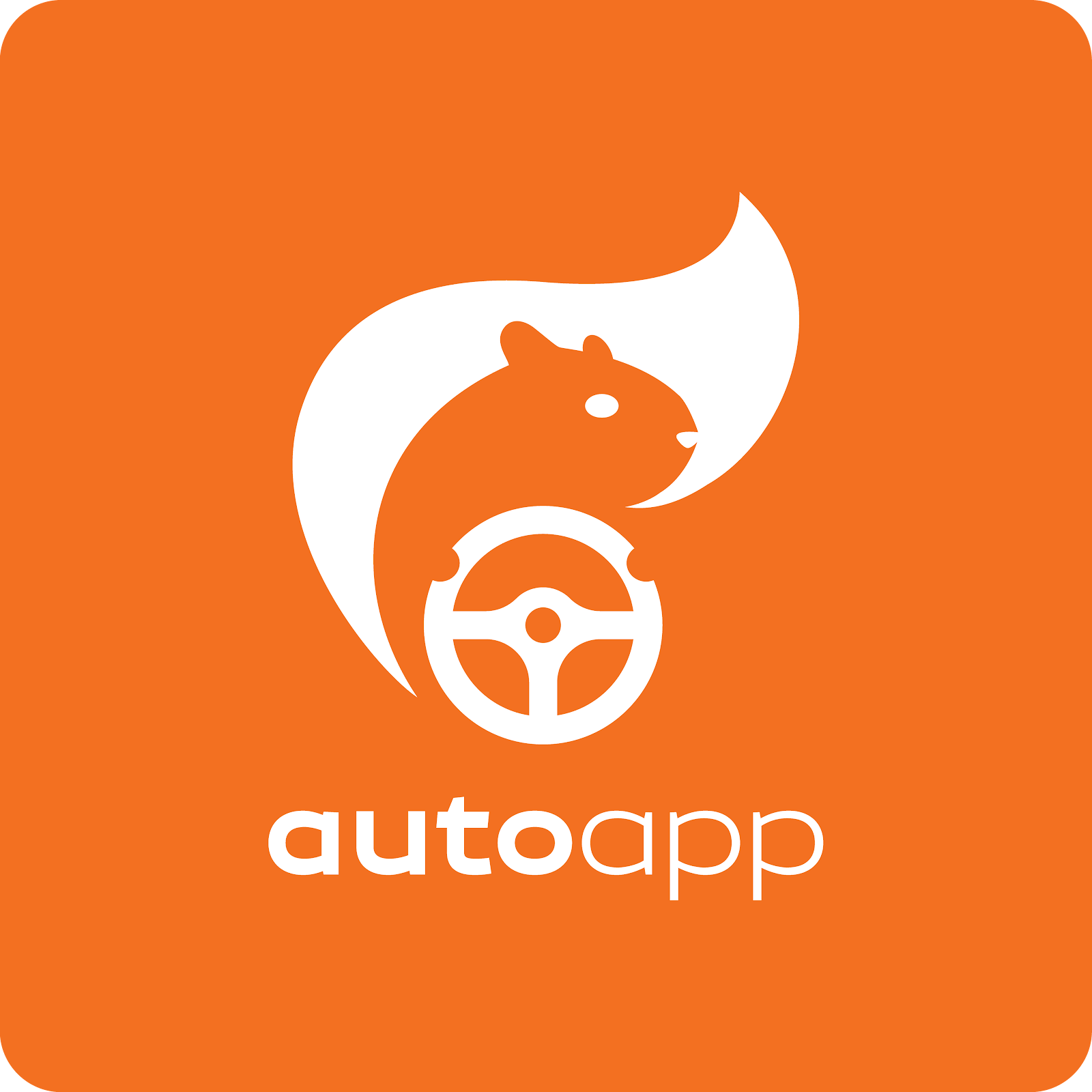 AutoApp squirrel logo