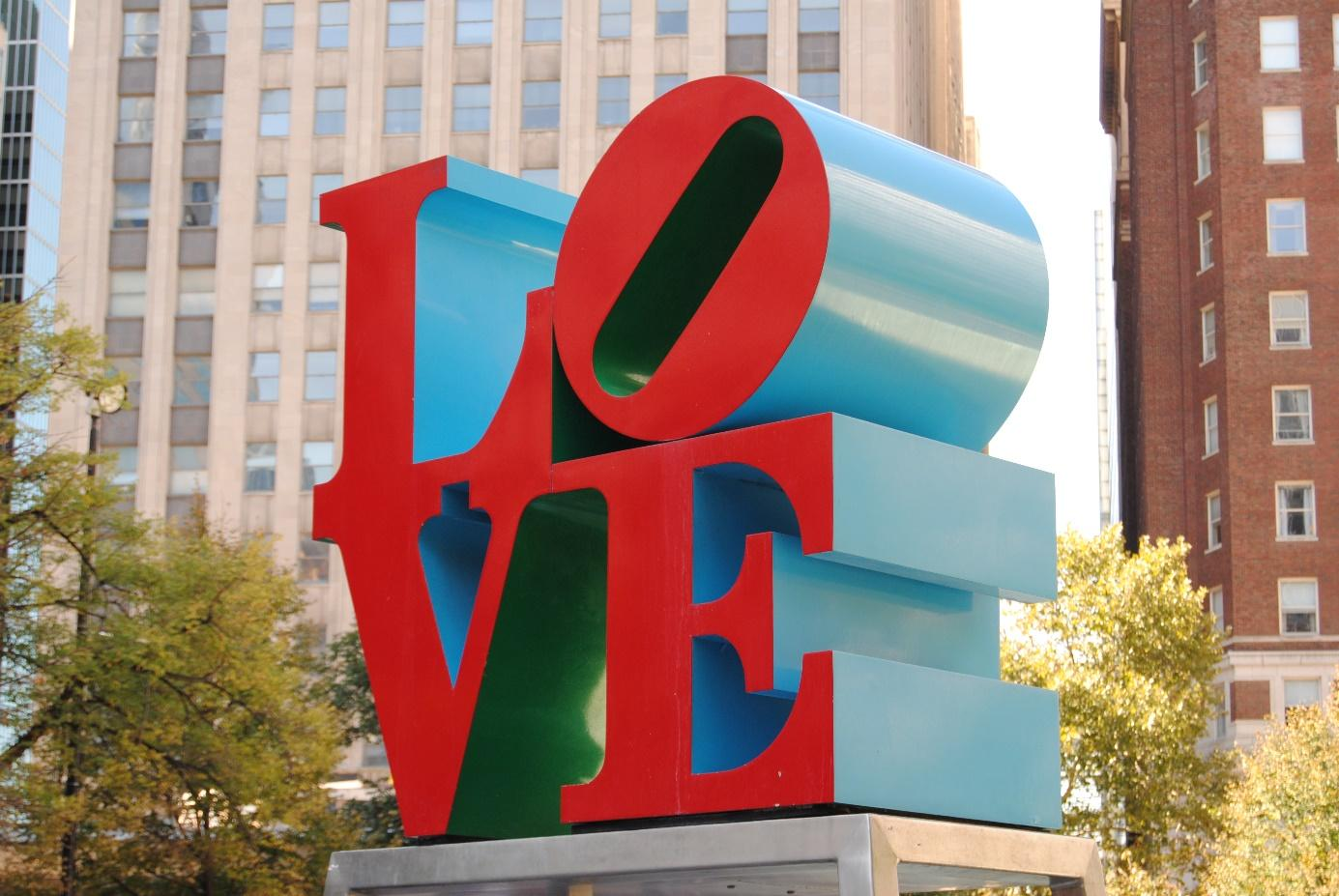 Philly's iconic Love Statue