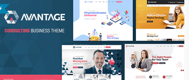 avantage business theme