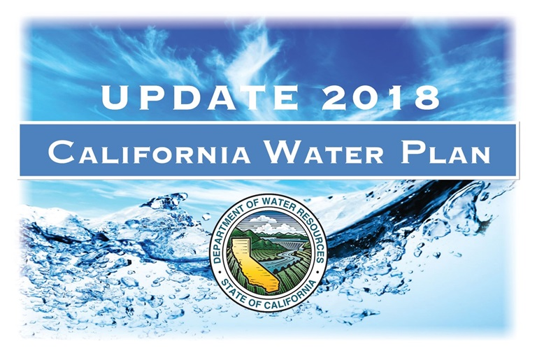 Image result for DWR releases final California Water Plan Update 2018