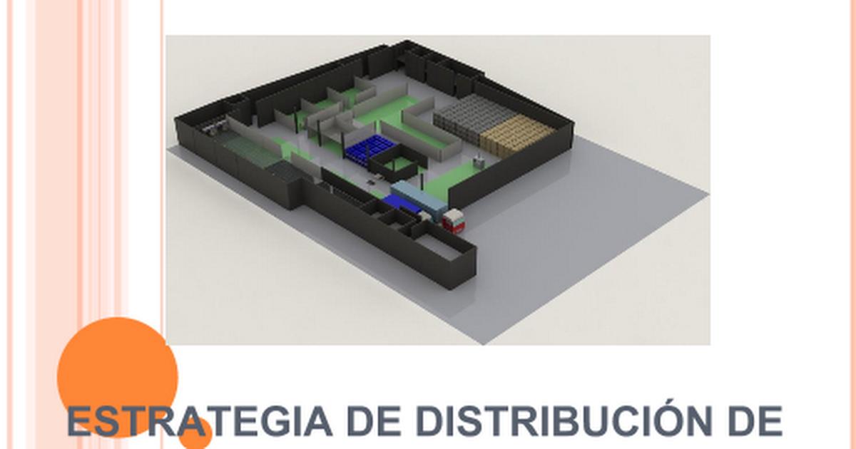 4 estrategias de distribucion de for Distribucion de una casa