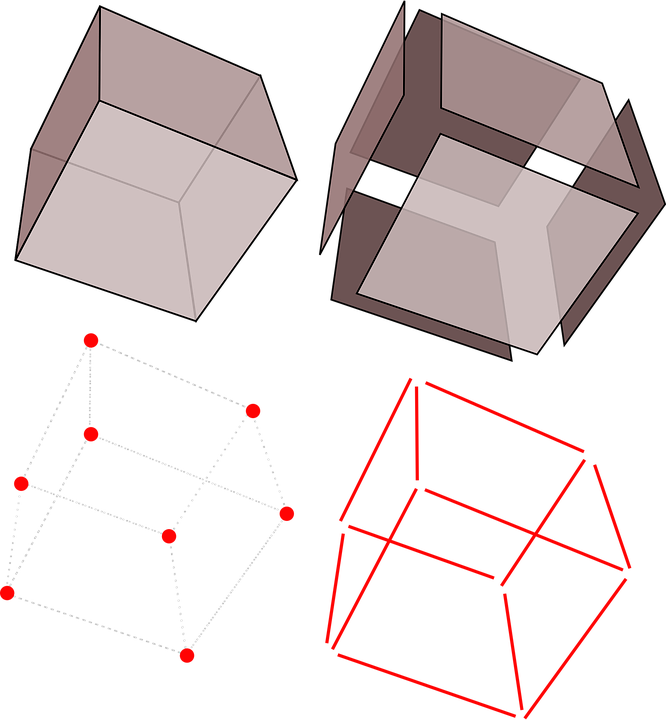Cubes, Geometry, Boxes, Abstract, Pattern, Shape