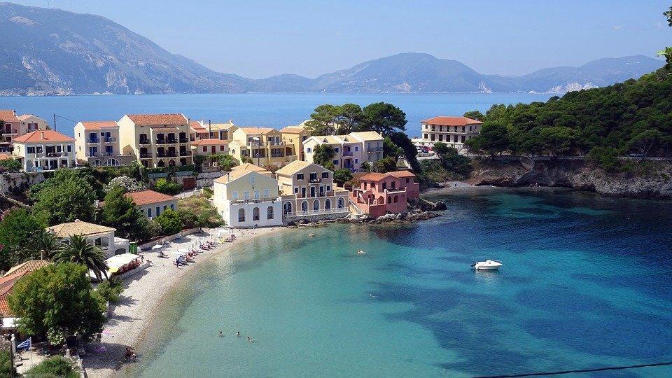 Greece, Assos, Island, Turquoise, Kefalonia, Cephalonia