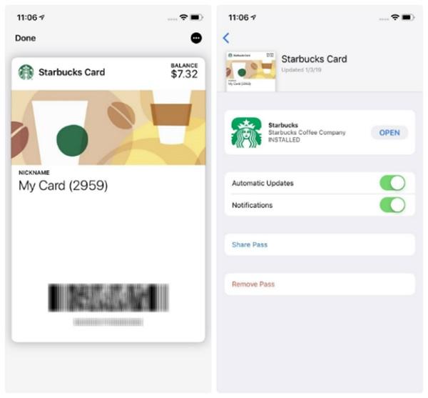 Ứng dụng ví được nâng cấp về mặt giao diện