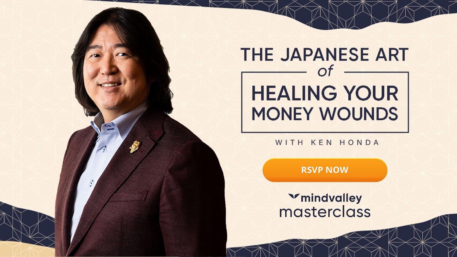 Healing journey. Heal your money wounds. A life in balance money masterclass