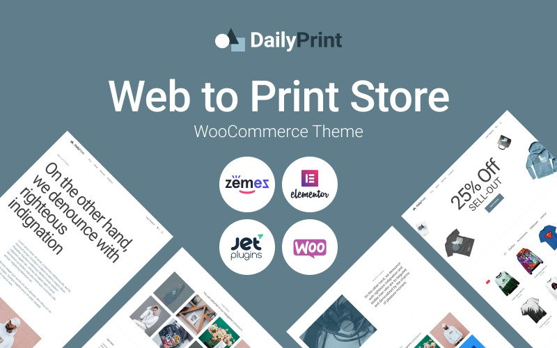 Fastest WooCommerce themes - DailyPrint