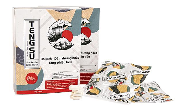 Kẹo ngậm Tengsu mang đến công dụng mãnh liệt