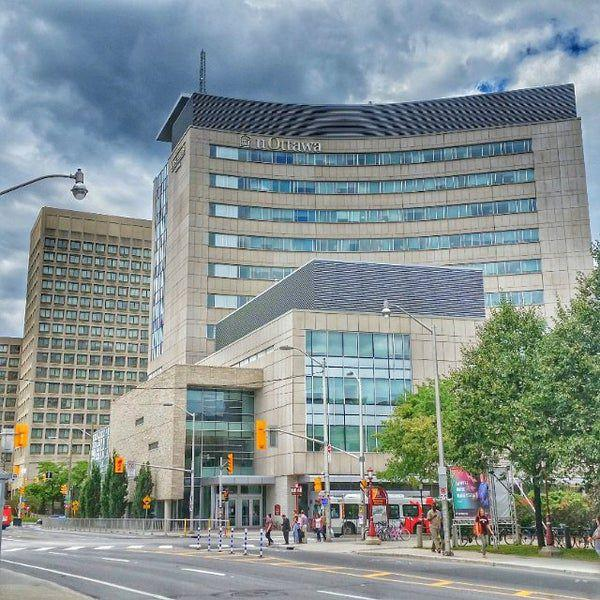 University of Ottawa campus - Desmarais Pavilion