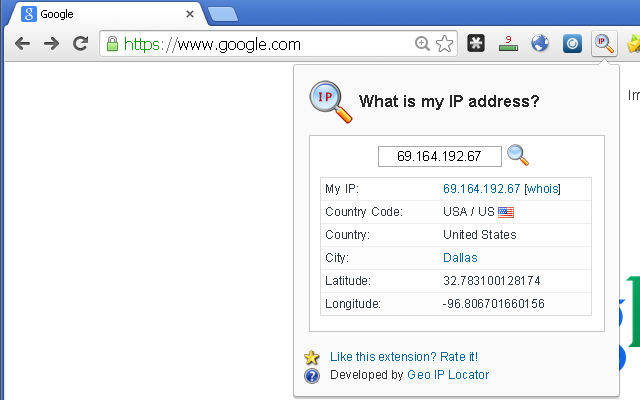 What is my IP address?...