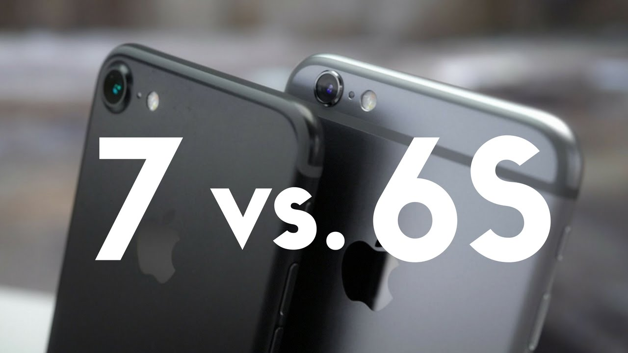Tư vấn: Nên mua iPhone 7 hay về với iPhone 6s