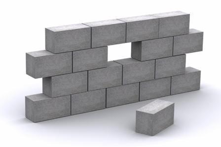 Gạch block bê tông và những đặc điểm cơ bản