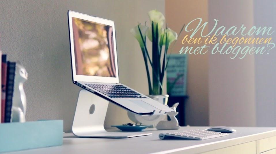 begonnen met bloggen