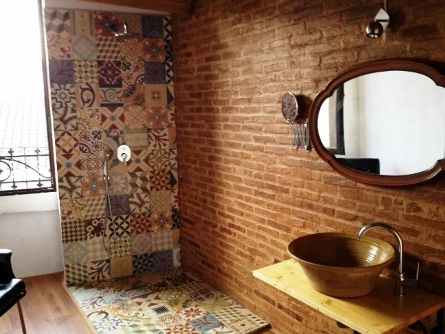 open shower concepts. Use An Open Concept For Your Bathroom And Show Off Eclectic Taste, Such As This Lovely Shower That Features A Mixture Of Victorian, Moroccan, Spanish, Concepts N