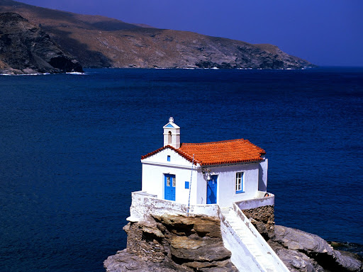 Thalassini Church, Cyclades Islands