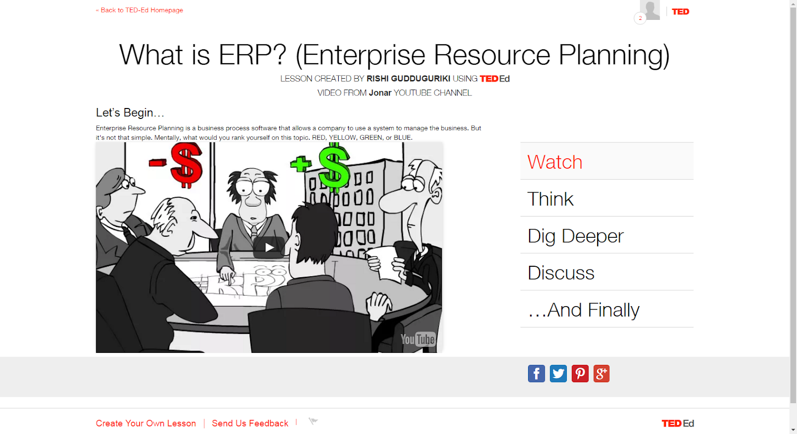 "Source: ""What Is ERP? (Enterprise Resource Planning)."" YouTube. YouTube, 25 Aug. 2011. Web. 17 Mar. 2017.Source: ""Information Technology in a Global Society (ITGS) Textbook."" ITGS Textbook. ITGS, 8 Feb. 2017. Web. 19 Mar. 2017."