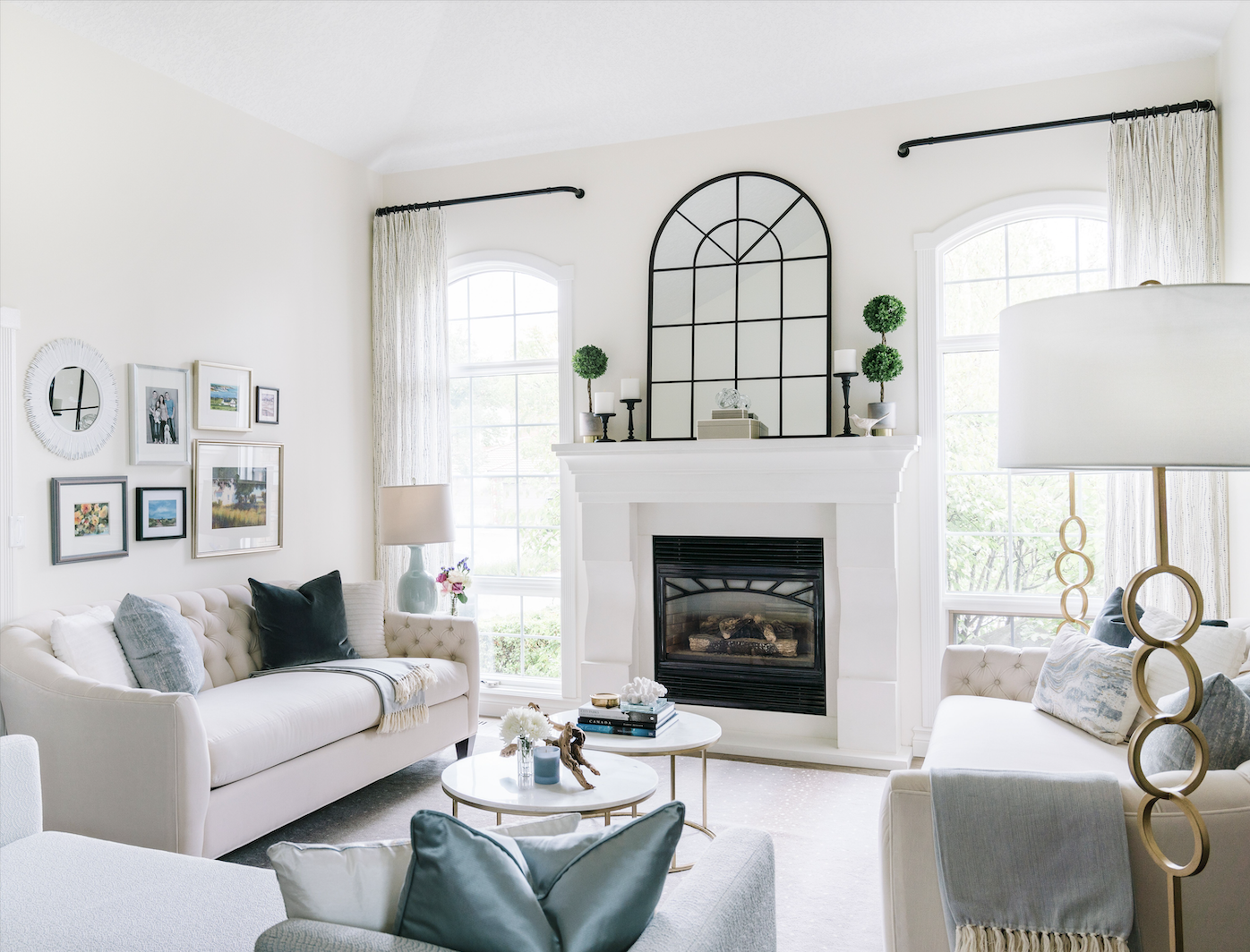 elegant gallery wall travel finds how to display at home leanne bunnell interiors