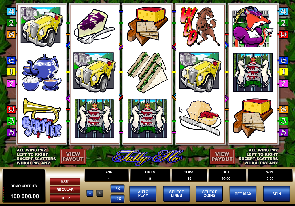 Tally Ho Slots Game Review