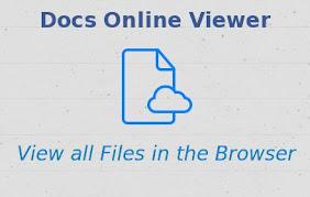 Docs Online Viewer Thumbnail