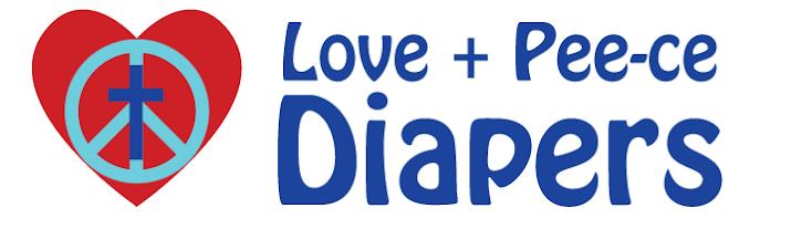 Love + Pee-ce Diapers