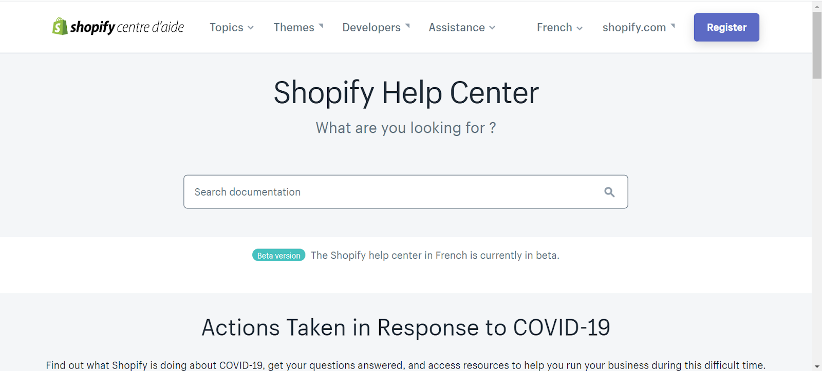 Your own supporting area for Dropshipping Shopify